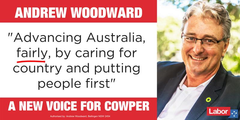 News Release: Andrew Woodward selected to take on Luke Hartsuyker in Cowper